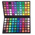 Professional 120 Cores Da Paleta Da Sombra Maquiagem Pigmentada Pallet Produto Neutro Brilho Fosco Sombra de Olho Conjunto de Cosméticos