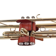 Trumpet Professional Protective Scratching Brown Cover Case for Trumpet Synthetic Faux Leather Brass Musical Guitar Accessories