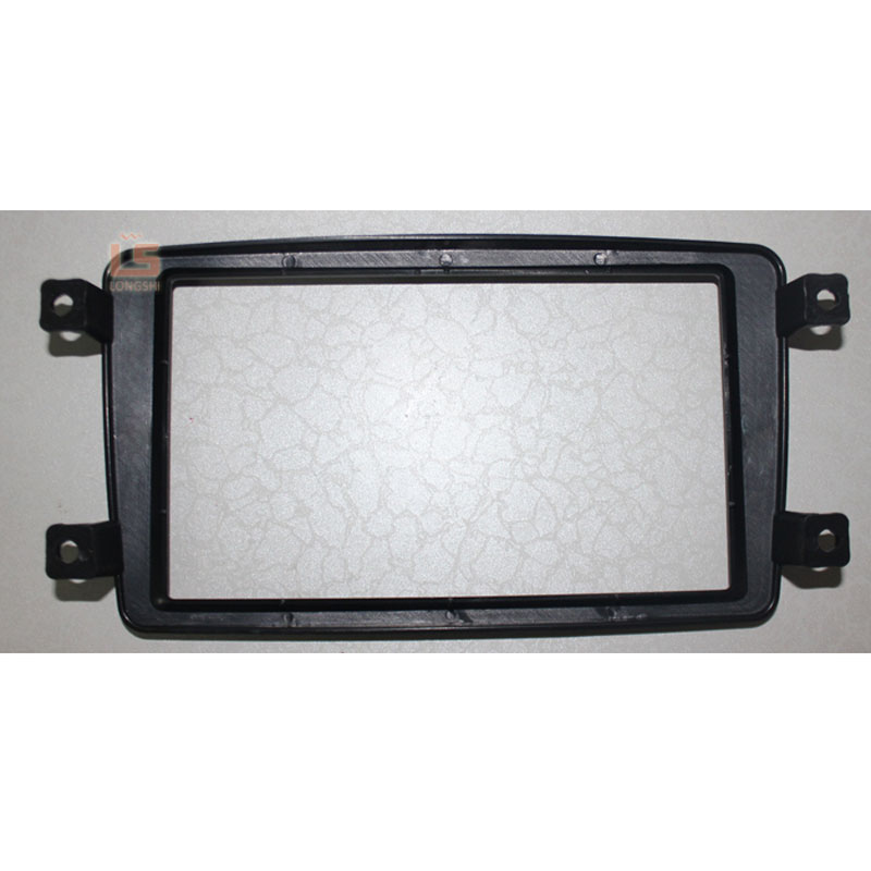 Double Din Car Radio Fascia for 2002 2003 2004 Mercedes BENZ C CLASS W203 DVD Player Panel Kits Stereo Audio Dash Frame 2Din in Fascias from Automobiles Motorcycles