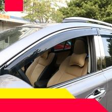 lsrtw2017 Acrylic material car window rain shield for toyota rav4 2012 2013 2014 2015 2016 2017 2018 xa40 lsrtw2017 stainless steel car trunk trims for toyota rav4 2013 2014 2015 2016 2017 2018 xa40