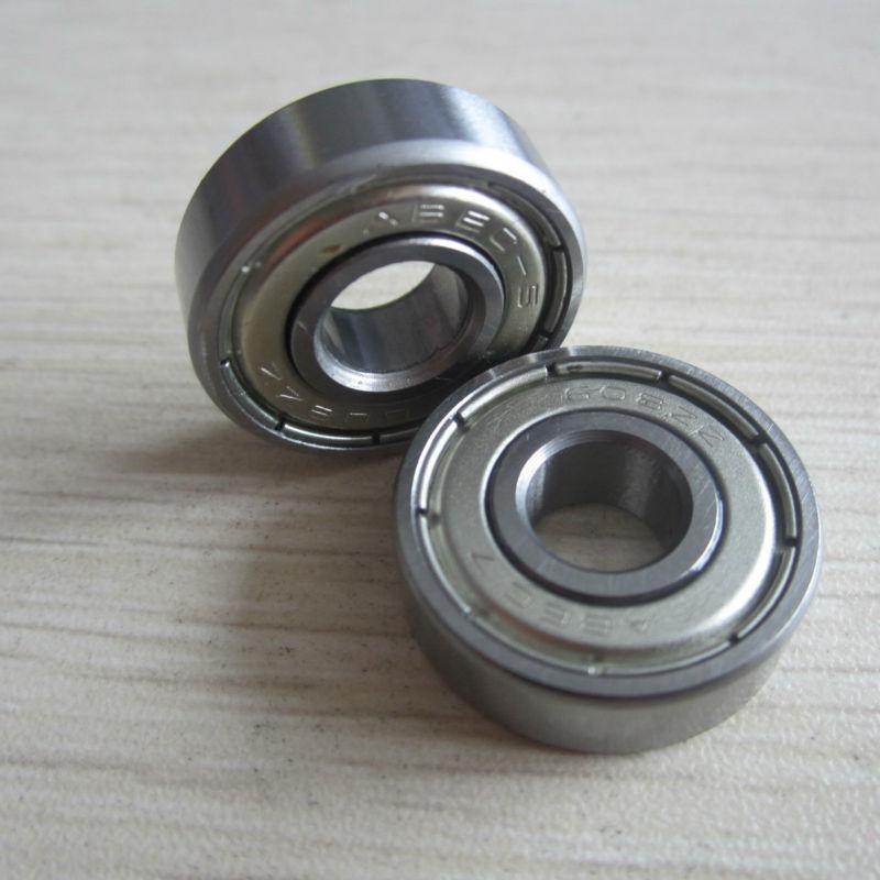 10pcs Skate board bearing 686ZZ 686-2Z 686-Z 6x13x5 mm 2015 new coming shoe bearing ABEC3
