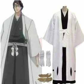 Anime Bleach Cosplay - Bleach 5th Division Captain Aizen Sousuke Cosplay Costume Best costume for Halloween Freeshipping - DISCOUNT ITEM  0% OFF All Category