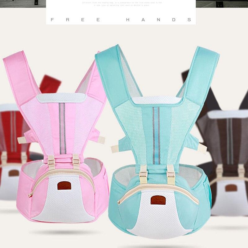 Canguru nouveau-né porte-bébé multifonctionnel taille tabouret marcheurs élingue tenir ceinture sac à dos Hipseat enfants infantile hanche siège