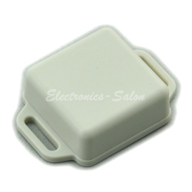 Small Wall-mounting Plastic Enclosure Box Case, White,36x36x15mm, HIGH QUALITY.