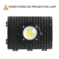 Honeycomb Led COB projector 50W White Bright Waterproof IP65 Outdoor Lamp Use for Square, Garage, Basement,etc