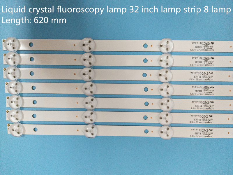 11 Light 50inch Lens 6 Lamp 550mm Computer Cables & Connectors 5 Lamp 437mmbutt 987mm Led Lcd Tv Backlight Strip