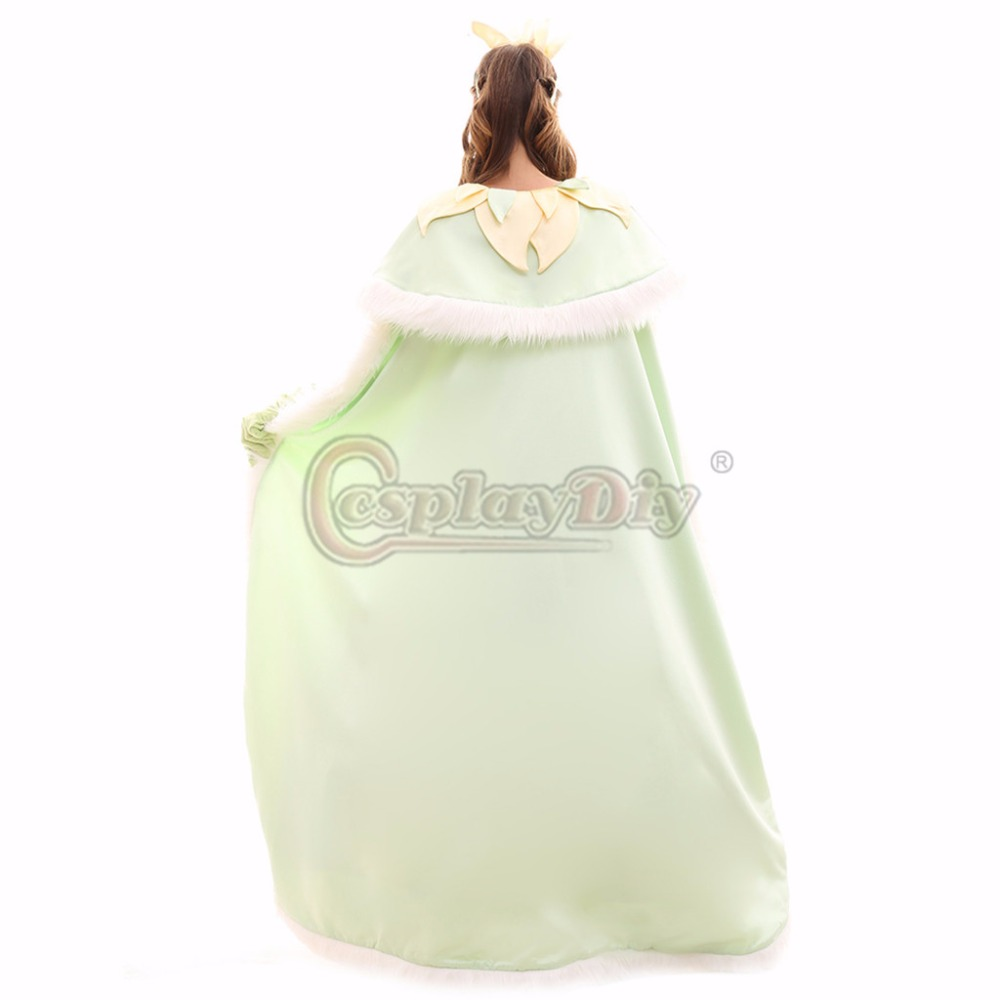Cosplaydiy Custom Made Tiana Princess Dress The Princess and the ...