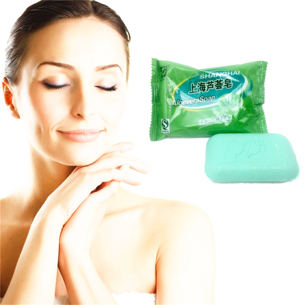 ALOEVERA Natural Active Enzyme Crystal Skin Whitening Soap Body Skin Whitening Soap For Private Parts Fade Areola
