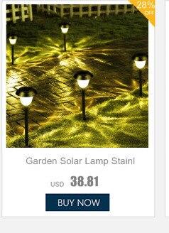 energia lírio para jardim solar lâmpada ao