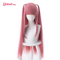 L email wig New Gotoubun no Hanayome Nino Nakano Cosplay Wigs 80cm Long Heat Resistant Synthetic Hair Perucas Cosplay Wig