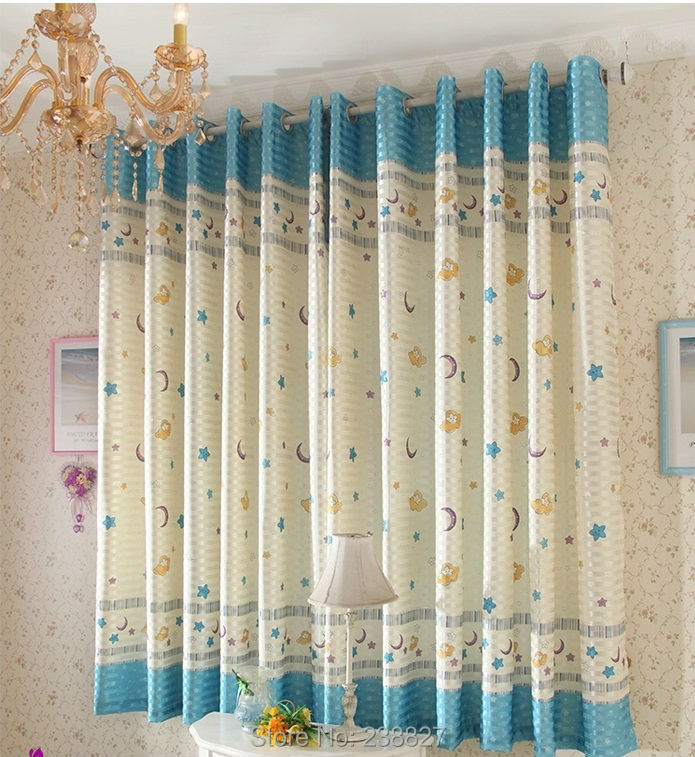 ... Curtains For The Living Room Child Bedroom Rideau Voilage Modern  Cortinas Cocina Rideaux Kitchen Window Kids ...