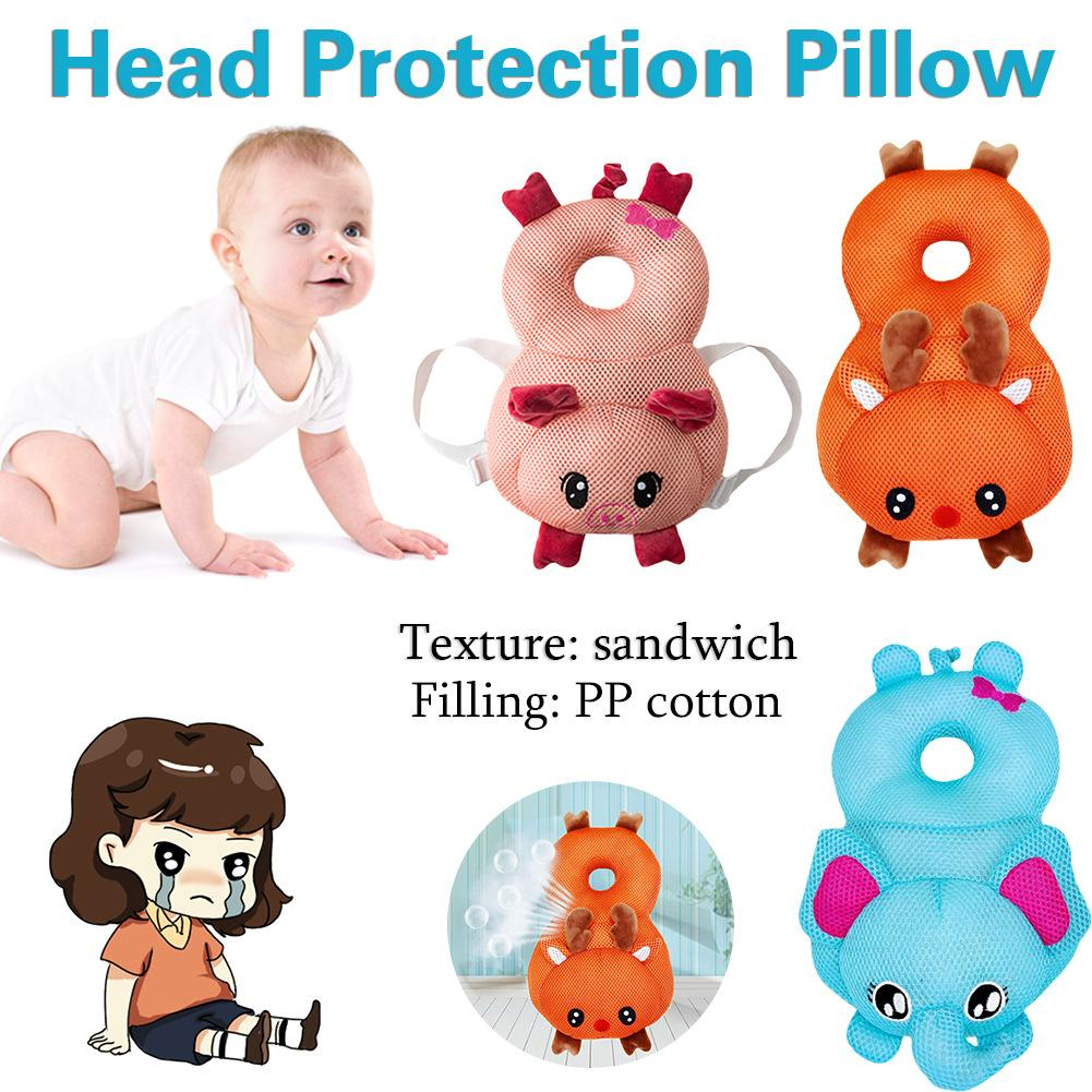 Baby Bedding Baby Toddler Drop-resistance Breathable Headrest Baby Head Protection Back Pad Shatter-resistant Pillow Anti-collision Head Cap Back To Search Resultsmother & Kids