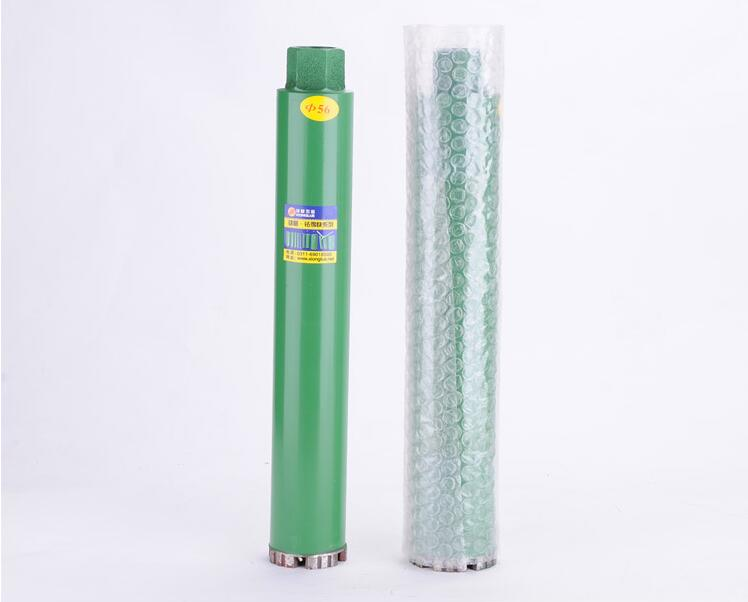 Promotion sale of Laser welded 63*450*10mm super long diamond Drill bits core bit  for drilling on marble/granite/concrete/wall