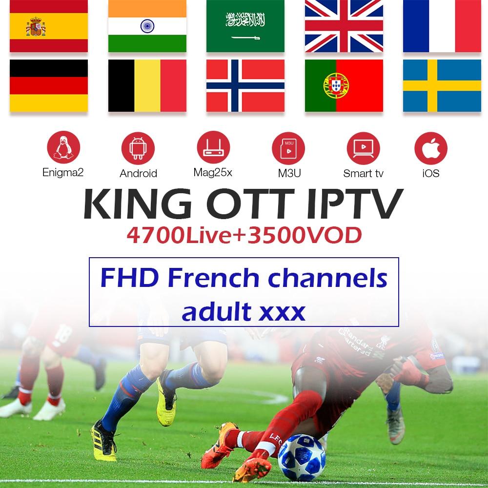 King OTT IPTV Subscription…