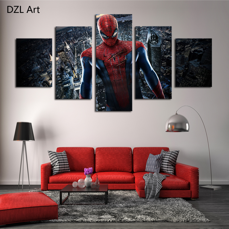 Spiderman Wall Decor online get cheap spiderman wall pictures -aliexpress | alibaba