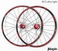 RT RC3 MTB mountain bike 26inch ultra light wheels 5 peilin sealed bearing disc wheel wheelset 27.5inch Rim Rims
