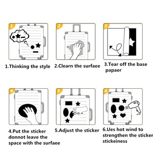 Image 5 - 94 шт., ПВХ водонепроницаемые наклейки на телефон, ноутбук, багаж, велосипед, гитару, мотоцикл