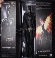 Hot Super Hero Crazy Toys Batman The Dark Knight Rises Movie Super Hero Huge 46cm/18 Action Figure Model Toy