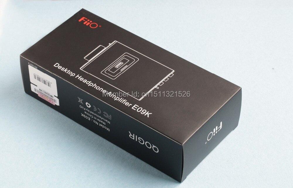 FiiO Refurbished Desktop Headphone Amplifier E09KS(AC adapter:Flat pins) appj hpa headphone amplifier adapter