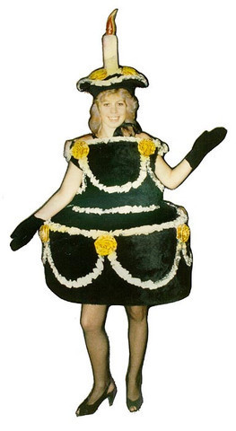 adults Birthday cake costumes
