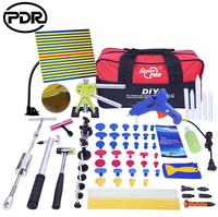 PDR Dent Puller Tool Kit Car Body Repair Tool Set LED line Board Glue Gun T Puller Glue Tabs Ferramentas for Auto