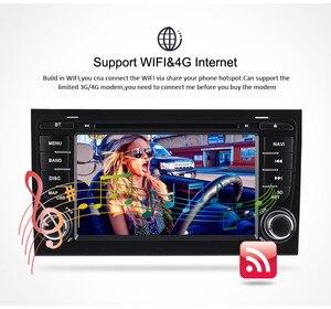 Image 4 - Автомобильный DVD радиоприемник 7 дюймов Android 2002, стерео для Audi A4 S4 2003 2004 2005 2006 2007 2008, GPS навигация, Wi Fi, видеоплеер, головное устройство