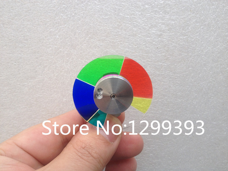 Projector color wheel for  NP215+  Free shipping projector color wheel for optoma dm13 dm15