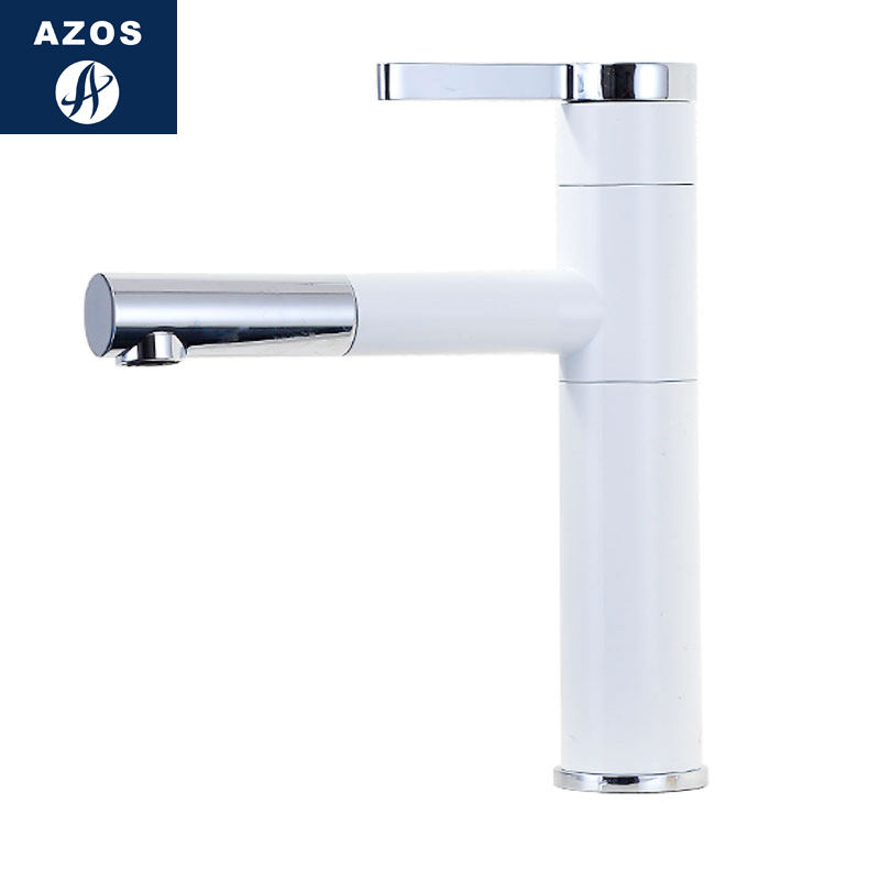 Azos Basin faucet Pull-out Wash Basin Brass Chrome Cold and Hot Switch Rotatable Bathroom Above Counter Basin Bathhouse Round CLAzos Basin faucet Pull-out Wash Basin Brass Chrome Cold and Hot Switch Rotatable Bathroom Above Counter Basin Bathhouse Round CL