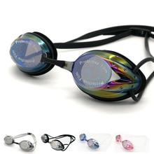 все цены на Unisex Swimming Goggles Anti-fog UV Protection Waterproof Surfing Professional Swimming Glasses Adult Swim Goggles Men Women онлайн