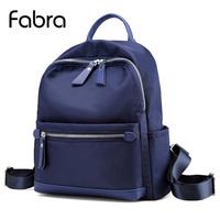 Fabra Women Backpack Waterproof Quality Nylon Backpacks Lady Daily Packs Casual Small Size Travel Shoulder Bag