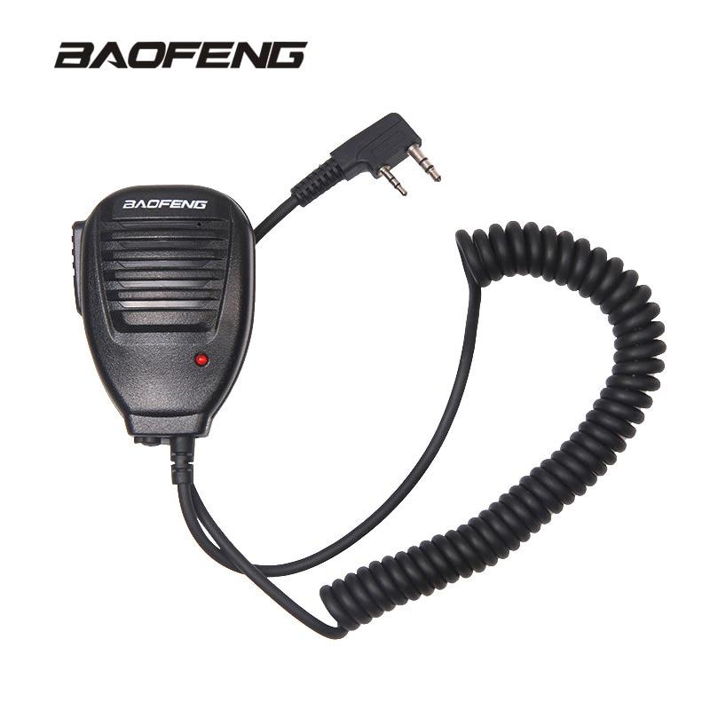 Radio Handheld Microphone Speaker MIC for Walkie Talkie UV-5R Portable Two Way Radio Pofung BaofengUV-5R BF-888S Accessories