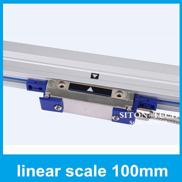 High accuracy lathe equipment absolute diy linear encoder Rational WTA5 5um100mm optical linear encoders for driller lathe  цены