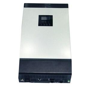 Image 3 - 5KVA טהור סינוס גל היברידי מהפך 48V 220V Built בmppt 60A PV תשלום בקר AC מטען לשימוש ביתי MPS 5K