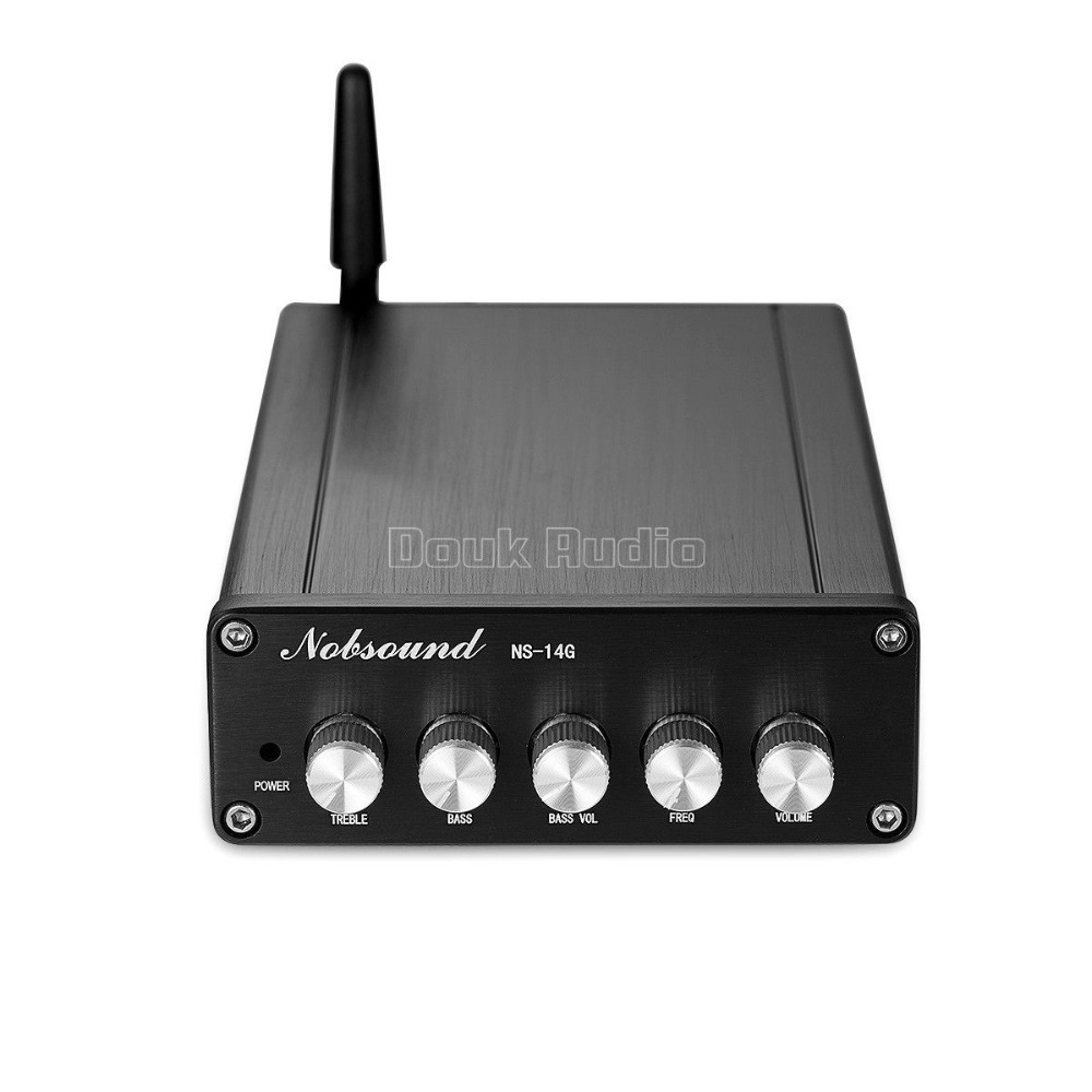 Image 2 - Douk audio HiFi Bluetooth 5.0 Subwoofer Audio Stereo TPA3116 Digital Mini 2.1 Channel Desktop Power Amplifier-in Amplifier from Consumer Electronics