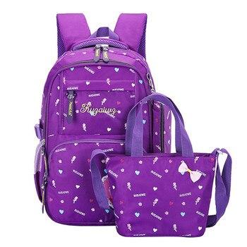 a5dabc6b5472 Детские школьные сумки для девочек Дети Ортопедические Рюкзак начальной  школы рюкзаки Дети портфель принцессы schoobag mochila infantil