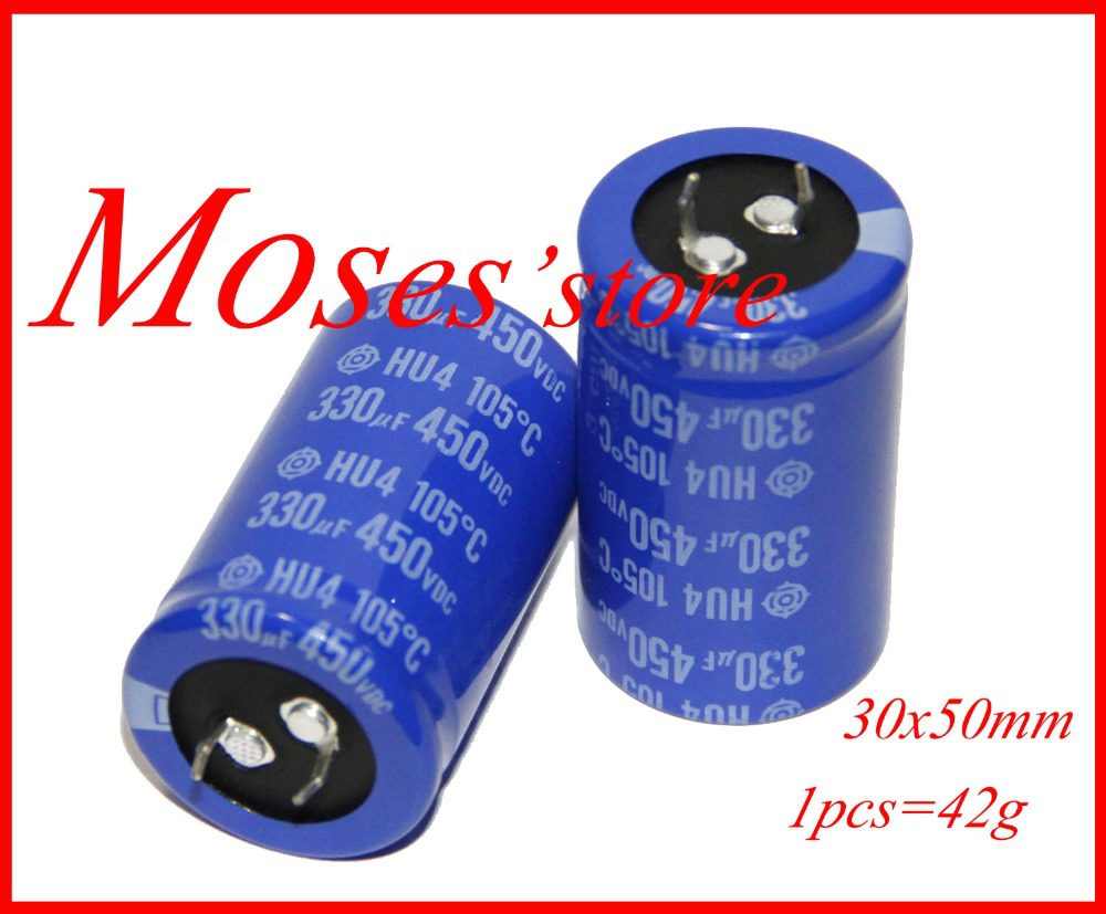 450v 330uf Original brand new Hita chi Electrolytic Capacitor Radial Capacitance 30x50mm 10pcs
