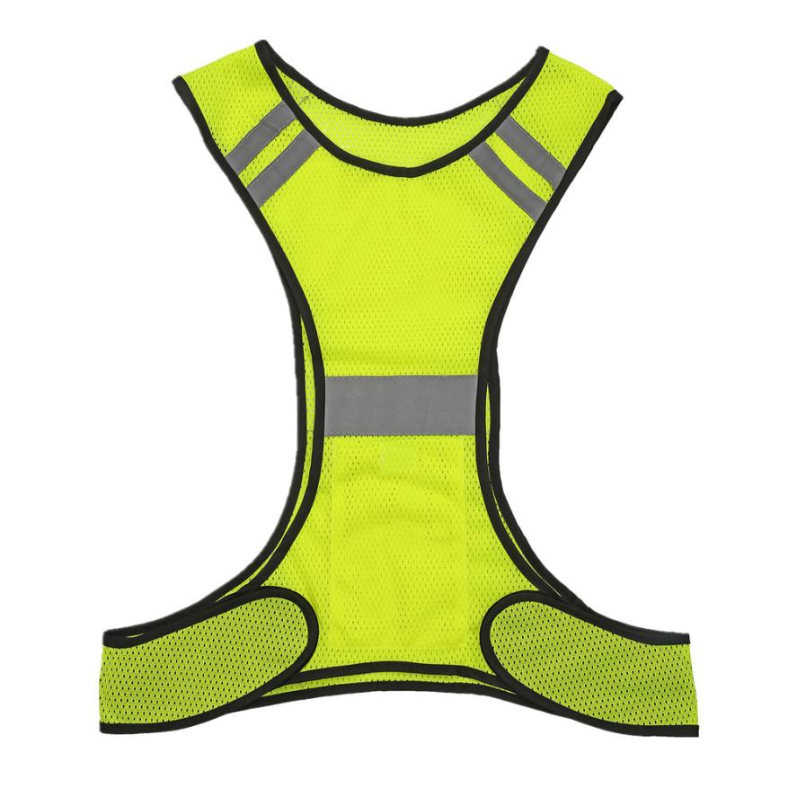 Mooistar # 5007 High visibility running reflective vest Safety equipment Night light vest
