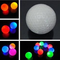 1 шт. светящийся цветной мигающий электронный мяч для гольфа для ночного гольфа подарок Прямая поставка