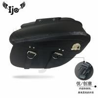 sacoche moto helmet bag for Vespa benelli harley softail mochila moto maletas moto givi pernera moto saddle bag motorcycle bag