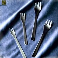 Camping Tableware Stainless Steel Fork Food Dinner Fork Long Handle Utensilios Dcozinha Talheres Cozinha Classic Cutlery QKF124