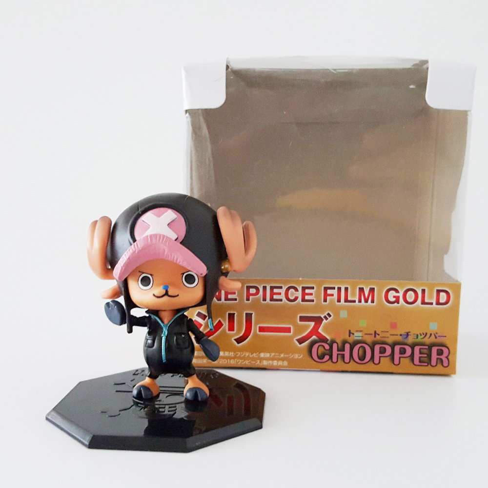 Tobyfancy One Piece Action Figure Tony Chopper PVC 70mm Movie Version Onepiece Anime Figure Toys