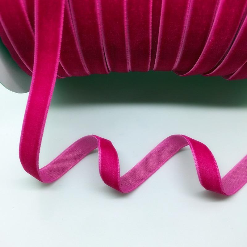"HTB1rX2IgZnI8KJjSspeq6AwIpXa7 5 Yards 3/8""(10mm) Velvet Ribbon Wedding Party Decoration Handmade Ribbon Gift Wrapping Hair Bows DIY Christmas Ribbon"