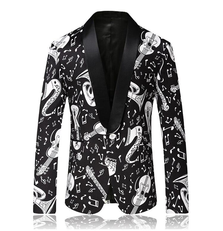 Blazers Score: 2019 New Style Men's Blazer Jacket Casual High Quality
