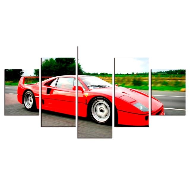 Ferrari Boyama Resmi