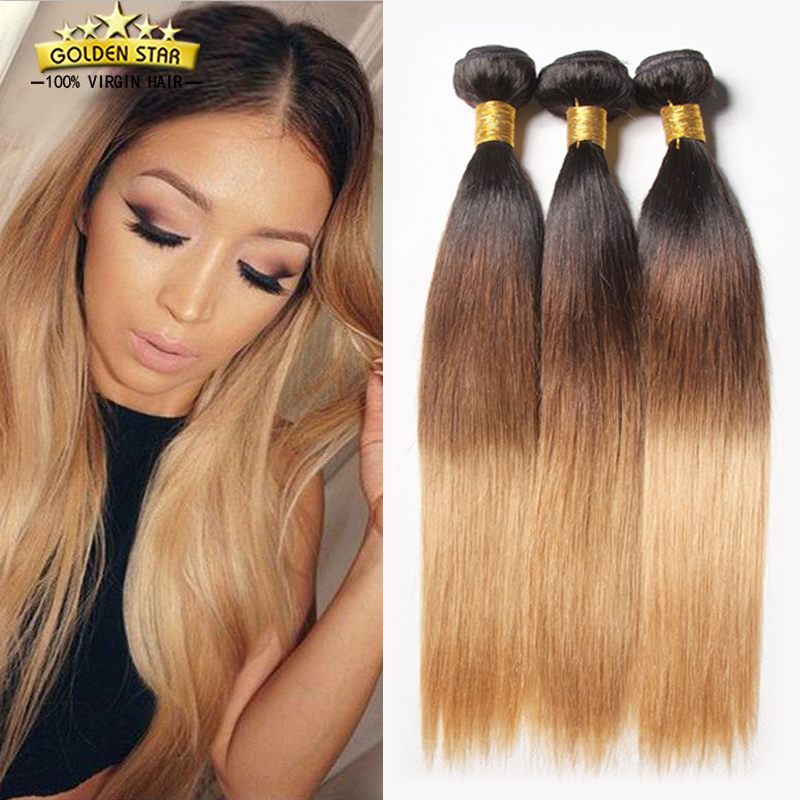 8a Ombre Peruvian Virgin Hair Straight Cheap Peruvian Hair