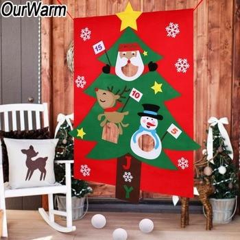 Nuestro Calido Arbol De Navidad Colgante Sorteo Juego De Regalo Para