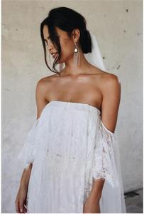 Image 4 - Gợi Cảm Mẹ Nhiếp Ảnh Chống Đỡ Cho Mẹ Váy Đầm Cho Buổi Chụp Hình Đầm Maxi Áo Quần Áo 2019 Vai Phụ Nữ Mang Thai Đầm
