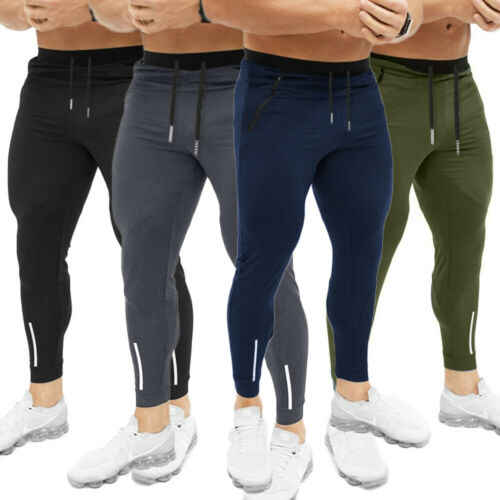 Joggers Broek voor Mannen Athletic Joggingbroek Gym Workout Slim Fit met Zakken Mannen Sport Broek Trainingspak Fitness Workout Joggers