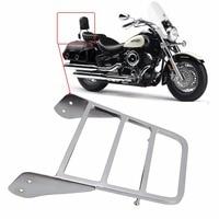 Chrome Motorcycle Sissy Bar Luggage Rack For Yamaha V Star 650 1100 Classic XVS 1998 1999 2000 2001 2002 2003 2004 2005 2006