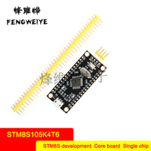 Panel STM8S Development Board STM8S105K4T6 Core Board MCU Learning Board Small System Board Gold Plated Edition